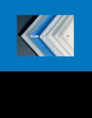 Medie filtranti sintetiche per polveri serie P (Rotoli al mq)